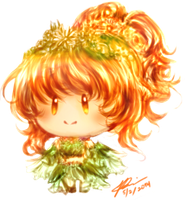 Kawaii Chibi-desu! ~ A Leaf Fairy by RossiniCrezyel