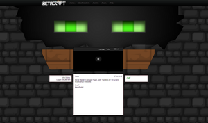 Minecraft Site by NibuTv