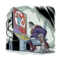 Superman: Day of the Bizarros - 04 by TimLevins