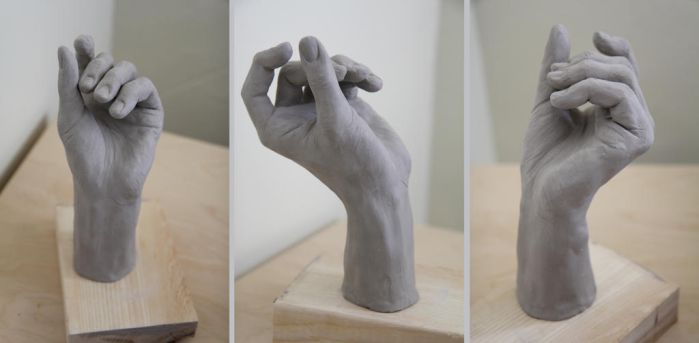 Hand Sculpture by Walyco
