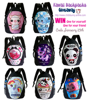 Backpacks giveaway by tho-be