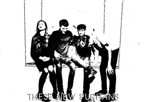These New Puritans BW by LewisWright