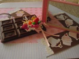 Chocolate Bar Mirror by AngelicLight100