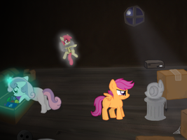 Cutie Mark Ghost Hunters GO! by Haileyguilford