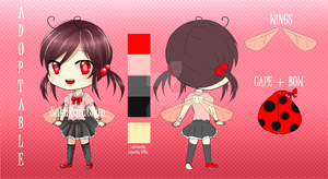 Adoptable 1 .: LadyBug :. AUCTION OPEN by SakuRaraChan