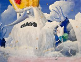 Attack on Ice King by Temporalvisions