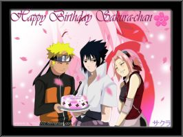 HAPPY b-DAY sakura chan by annria2002