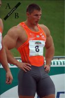 Track Athlete 80 by Stonepiler