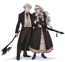 Commission: Hansel and Gretel by jeinu