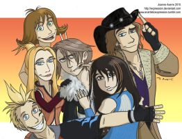 The Good Guys of FF8 by Expression