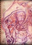 Aztec-K Project - Sketch by Gerry-Lee