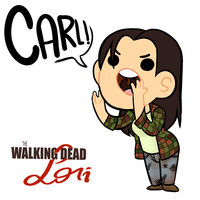 Little ass kickers:Lori Grimes by AninhaT-T