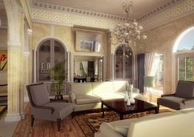 Old opulent interior by fraher-david
