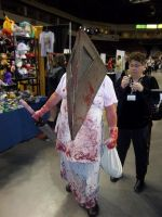 Pyramid Head - Silent Hill by The-1One