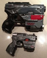 Nerf Element Prometheus pistol gun mod by GirlyGamerAU
