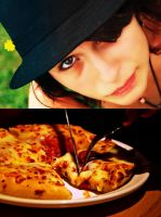Pizza Hat by BambooScent