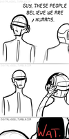 DAFTPUNK: What. by radioactivemoos