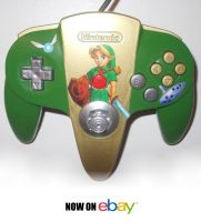 ZELDA - OCARINA OF TIME CONTROLLER NOW ON EBAY! by SoenkesAdventure