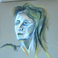 20 min portraite by LadyKylin