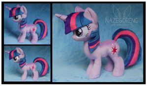 Twilight Sparkle Custom Plush by Nazegoreng