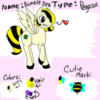 Bumble Bea Reference Sheet by Black-Rose-Emy