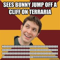 Tobuscus meme thing bunny suicide by snakehands