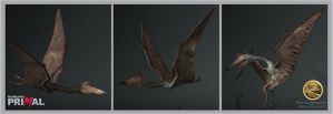 TheHunter Primal Quetzalcoatlus by Dinossword
