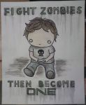 Fight Zombies by UnderTaste666