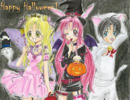 Happy Halloween-FullMoon style by Tamao