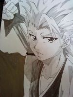 Hitsugaya Toshiro by martha1101