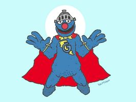 Super Grover by Hartter