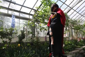 Allan Gardens . Vincent Valentine by Midnight-Dance-Angel
