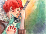 Transistor: Red by KseniyaART