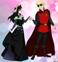 Jade: Be the Princess, Dave: Be The Prince by Rygel-n