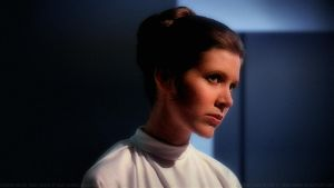 Carrie Fisher Princess Leia XLV v2 by Dave-Daring