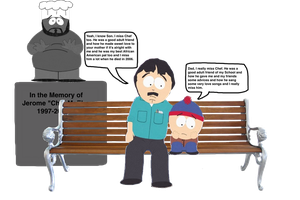 Randy Marsh and Stan Misses Chef by darthraner83
