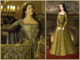 Catherine of Aragon from The Tudors by Nurycat