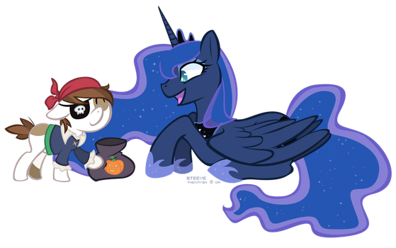 MLP: Pip n Woona by TheKnysh