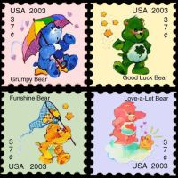 Care Bear Stamps by GoblinWolfwood