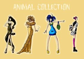 Animal Fashion Collection by WeleScarlett