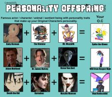 Personality Offsping Meme: The Return by SpiketheKlown