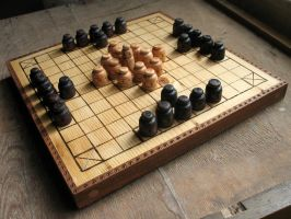 Hnefatafl - King's table by HouseOfLostPlay