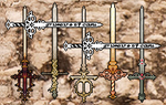 Sword Collection by littlegrimoire