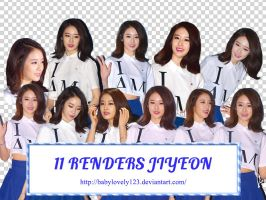 Pack render #3 Jiyeon by Sara by babylovely123