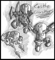 Castle Crashers by sicksake