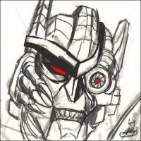 Dinobot sketch by BWSecondChances