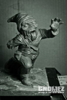 GnomeZ: Zombie Gnome Rod by Kilh