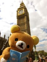 Rilakkuma at London (house of parlament) by Doll3