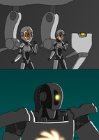 PR and Portal - GLaDOS Jaeger by SigmatheArtist