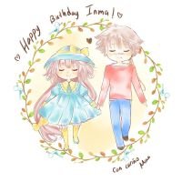 Happy Birthday to Inma by mina-akira